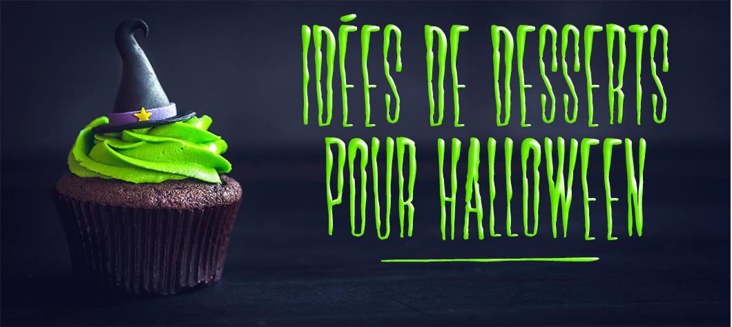5 recettes de desserts d'Halloween que vont adorer vos enfants !